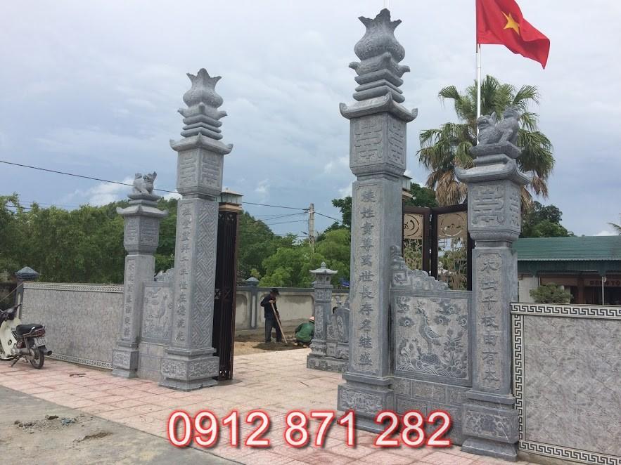 Mẫu cổng nhà thờ họ đẹp 2