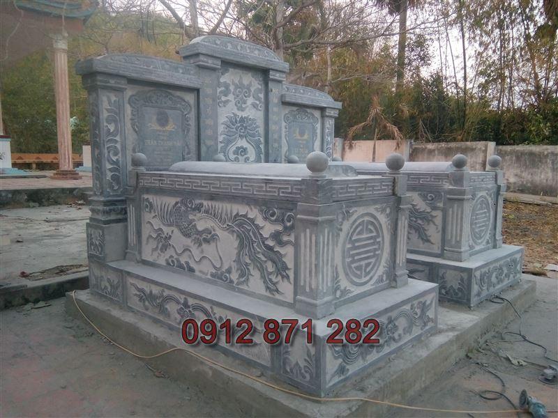 Kích thước xây mộ đôi đẹp 1