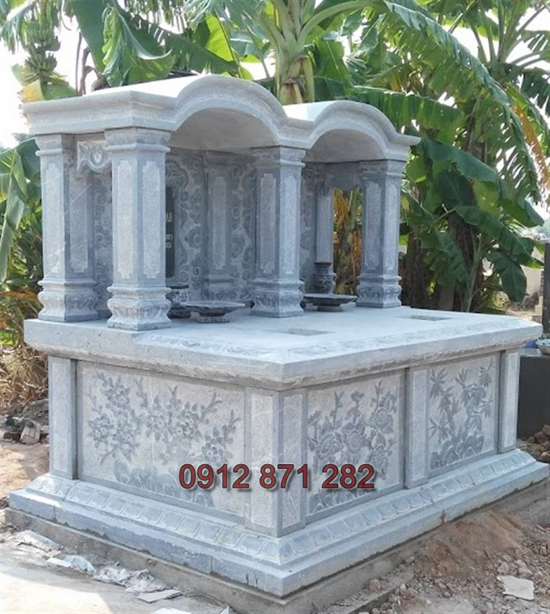 Thiết kế mộ đôi đẹp 2