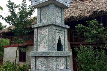 Mẫu mộ hình tháp 1