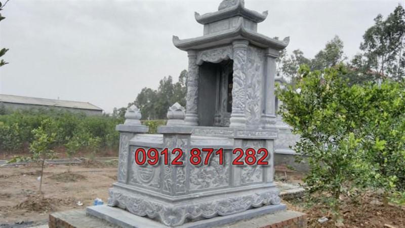 mộ đá 2 mái 4