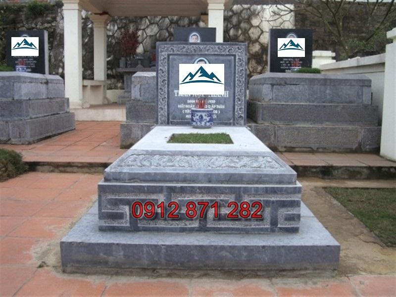 mộ đá đơn giản 1