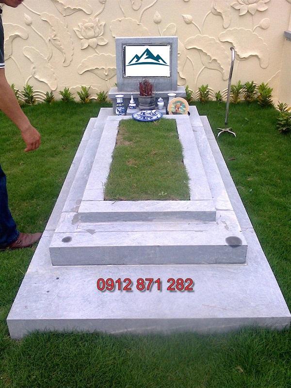 mộ đá đơn giản 4