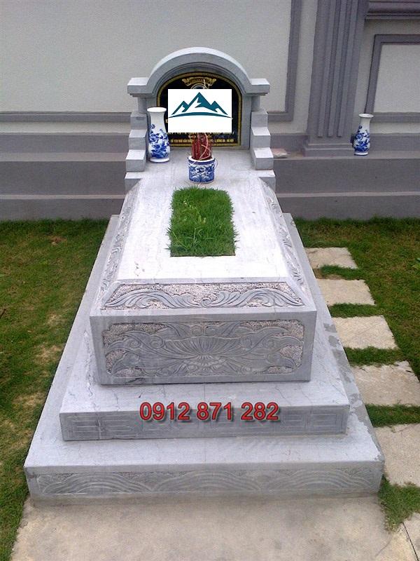 mộ đá tam cấp 3
