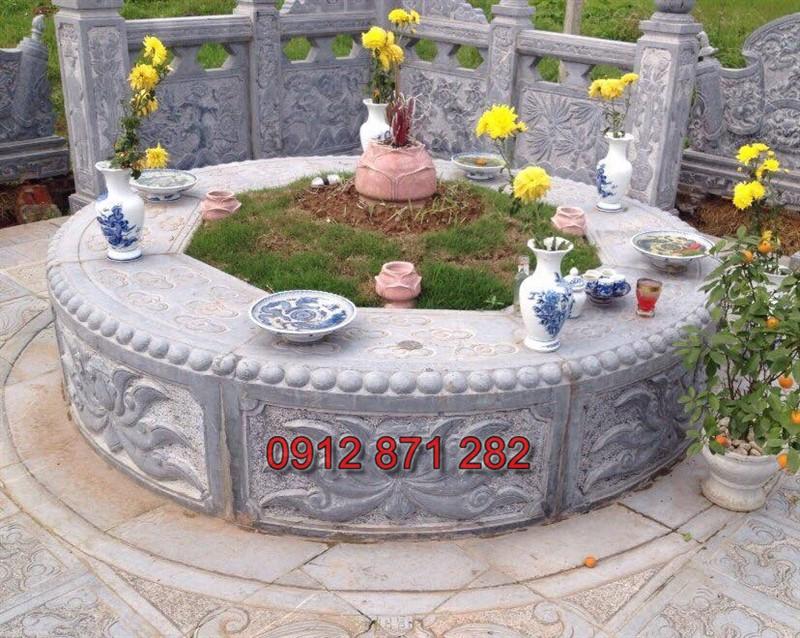 Mộ đá tròn đẹp 2