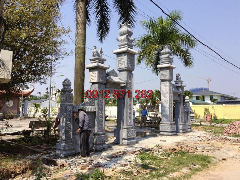 Cổng đình đẹp tại Bắc Giang 02