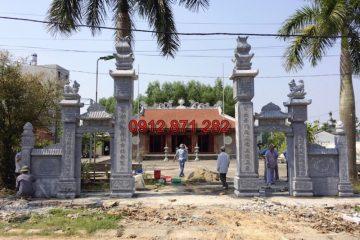 Cổng đình đẹp tại Bắc Giang 03