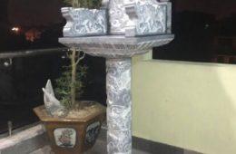 bàn thờ thiên bằng đá