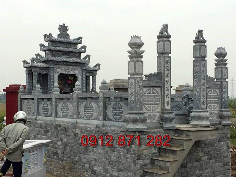 Mẫu lăng mộ đá đẹp 03