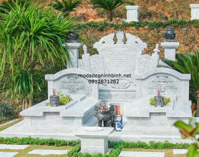 Mẫu mộ hiện đại 02