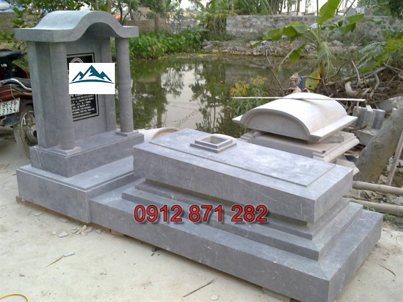 Mẫu mộ hiện đại 05