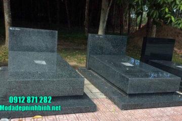 các kiểu mộ đá hoa cương