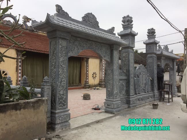 cổng đá nhà thờ đẹp