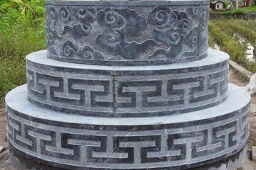 mộ tròn đá xanh đẹp nhất