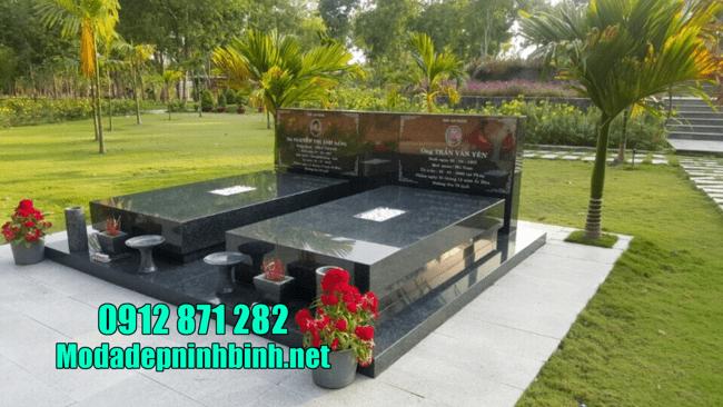 mẫu mộ đẹp đơn giản bằng đá