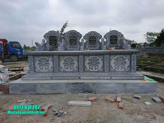 mẫu mộ tam sơn bằng đá đẹp nhất
