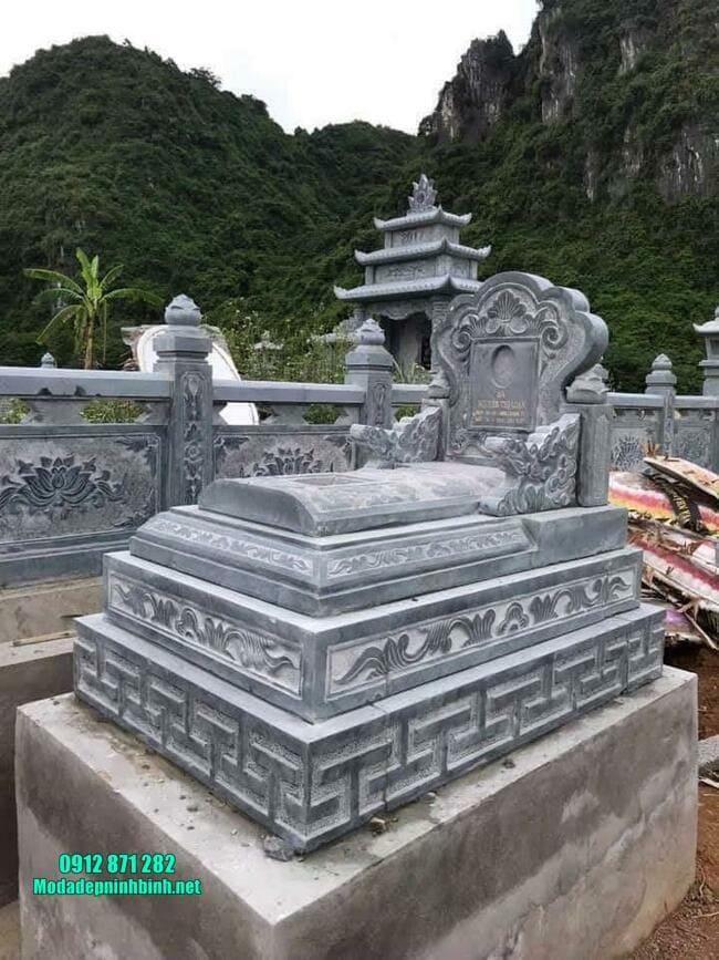 mẫu mộ tam sơn bằng đá xanh đẹp nhất