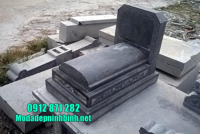 mộ bằng đá đẹp đơn giản