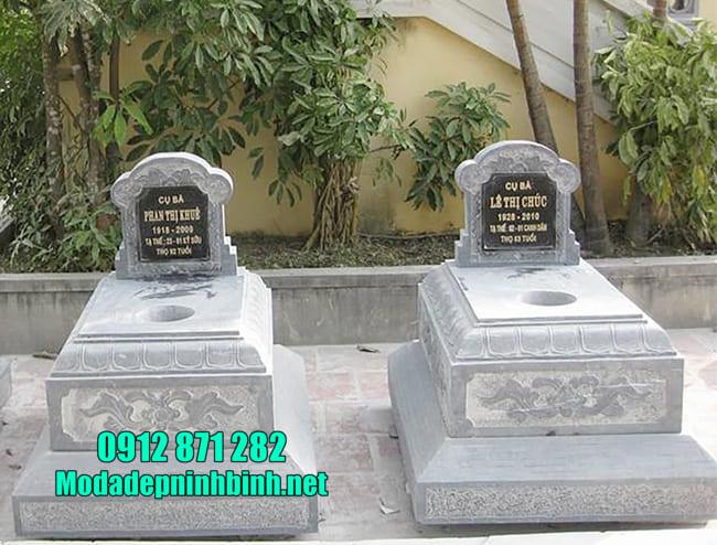 mộ bằng đá đơn giản đẹp nhất