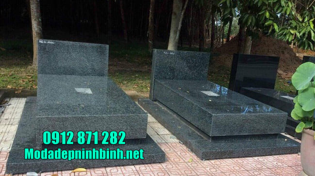 mộ bằng đá đơn giản đẹp