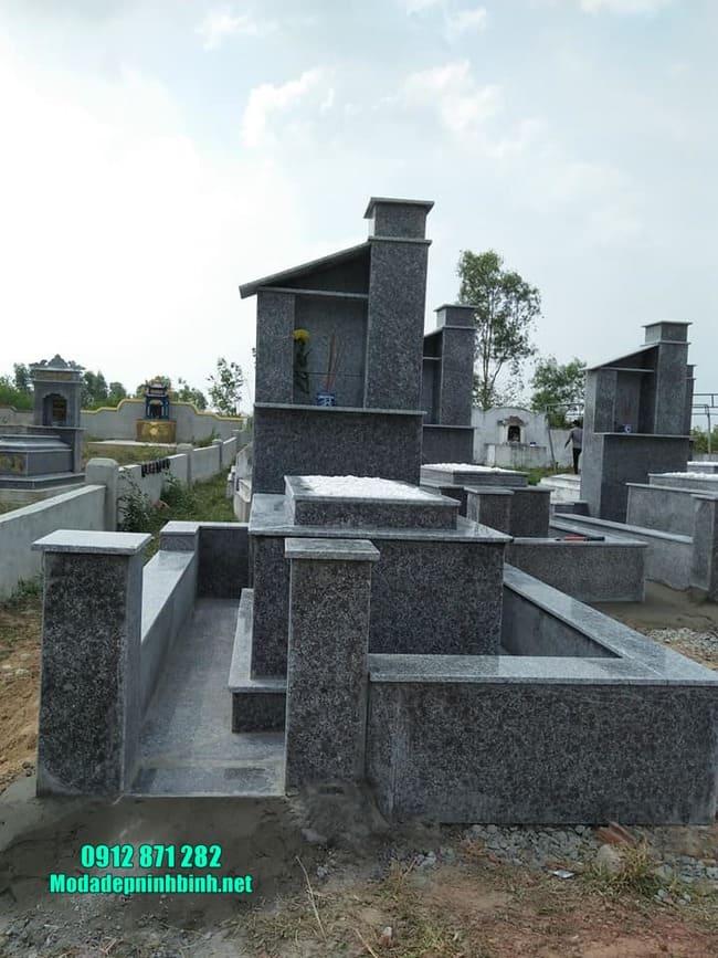 mộ bằng đá granite đẹp nhất