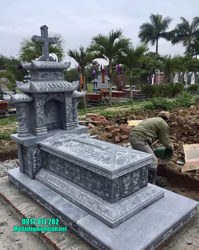 mộ người theo đạo đẹp nhất hiện nay