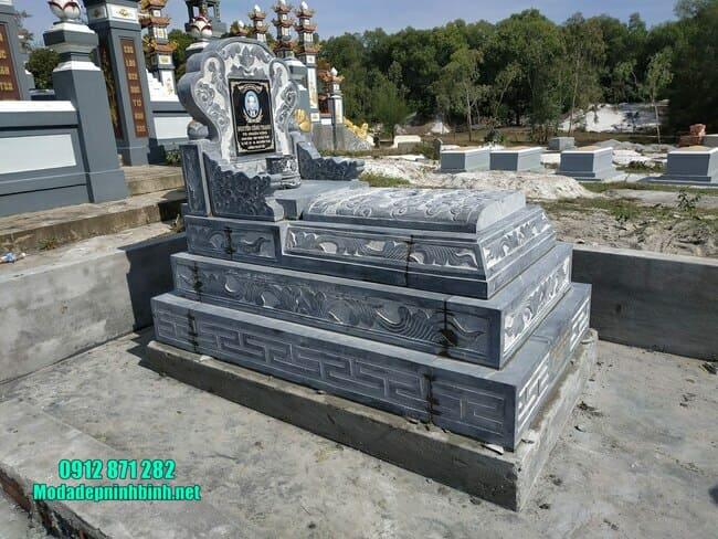 mộ tam sơn bằng đá xanh đẹp nhất