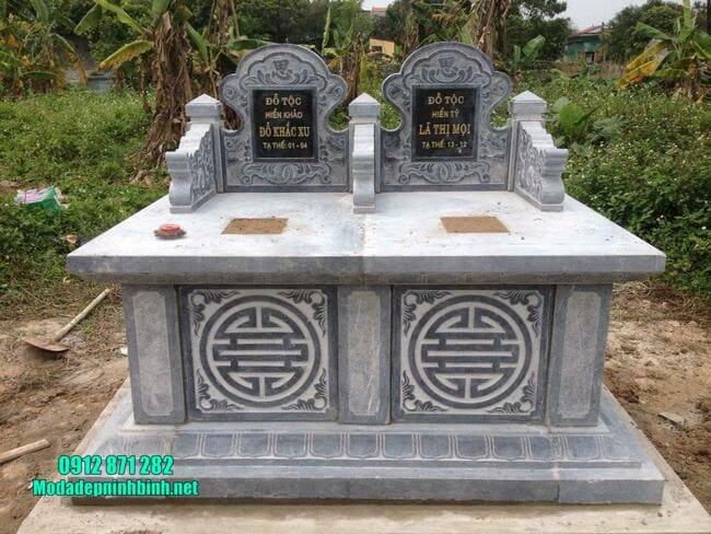 mộ tam sơn đá xanh đẹp nhất