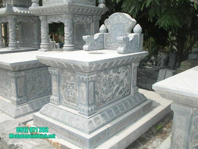 mộ tam sơn đá