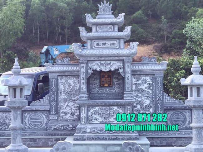 Cập nhật giá lăng mộ bằng đá mới nhất hiện nay