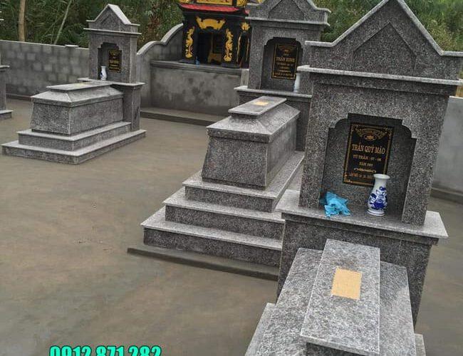 Cập nhật giá mộ đá hoa cương mới nhất tại Ninh Vân - Ninh Bình