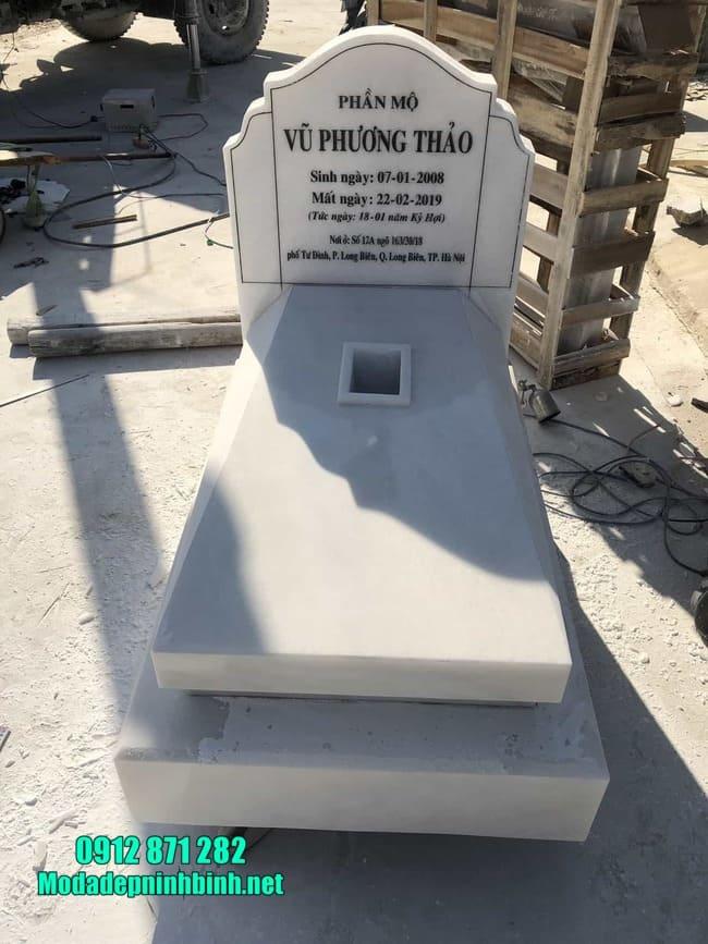 Cơ sở bán mộ đá hoa cương giá rẻ tại Ninh Vân