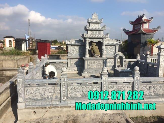 Cơ sở thiết kế, xây dựng lăng mộ đá uy tín tại Ninh Vân