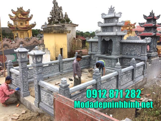 Đặc điểm của khu lăng mộ bằng đá xanh