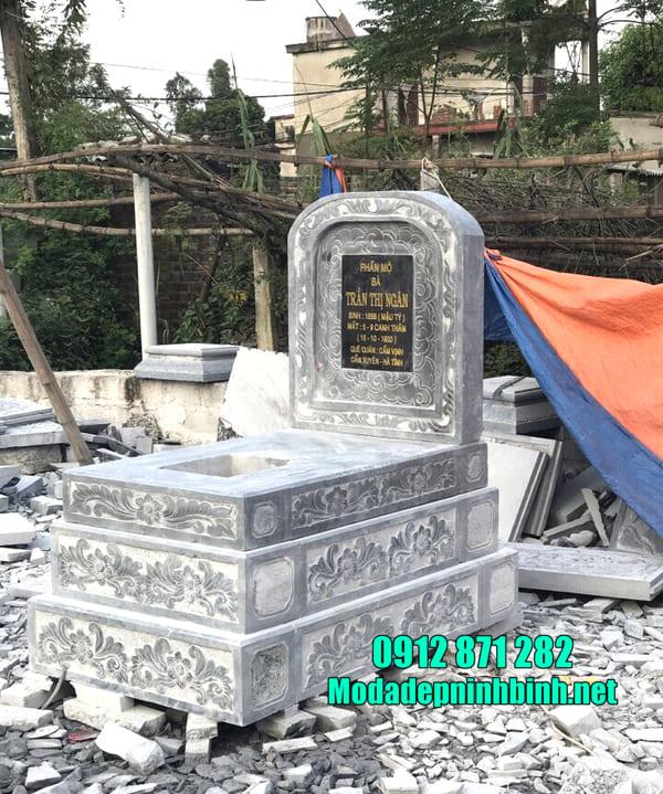 Địa chỉ lắp đặt mộ đá đơn giá rẻ nhất hiện nay