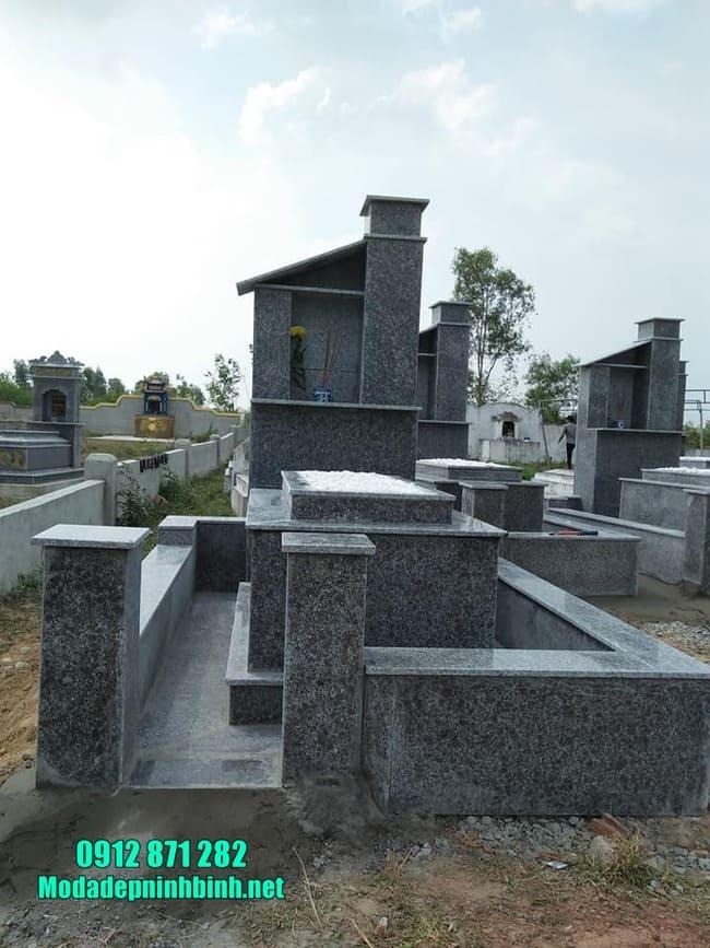 Địa chỉ thiết kế, lắp đặt mộ đá hoa cương uy tín tại Ninh Vân