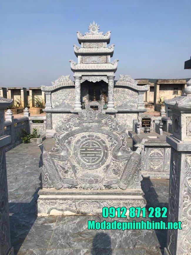 Giá lăng mộ bằng đá mới nhất hiện nay