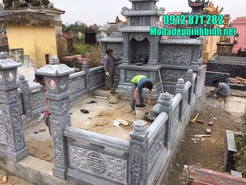 Kích thước chuẩn của mộ đá trong khu lăng mộ