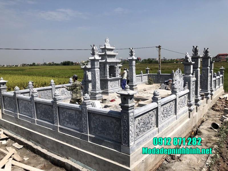 Mẫu lăng mộ đá đẹp nhất Việt Nam