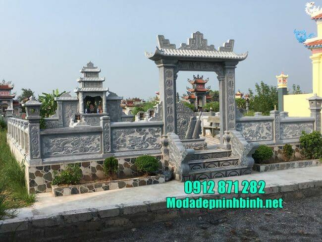 Một số mẫu lăng mộ đá đẹp nhất tại Ninh Vân