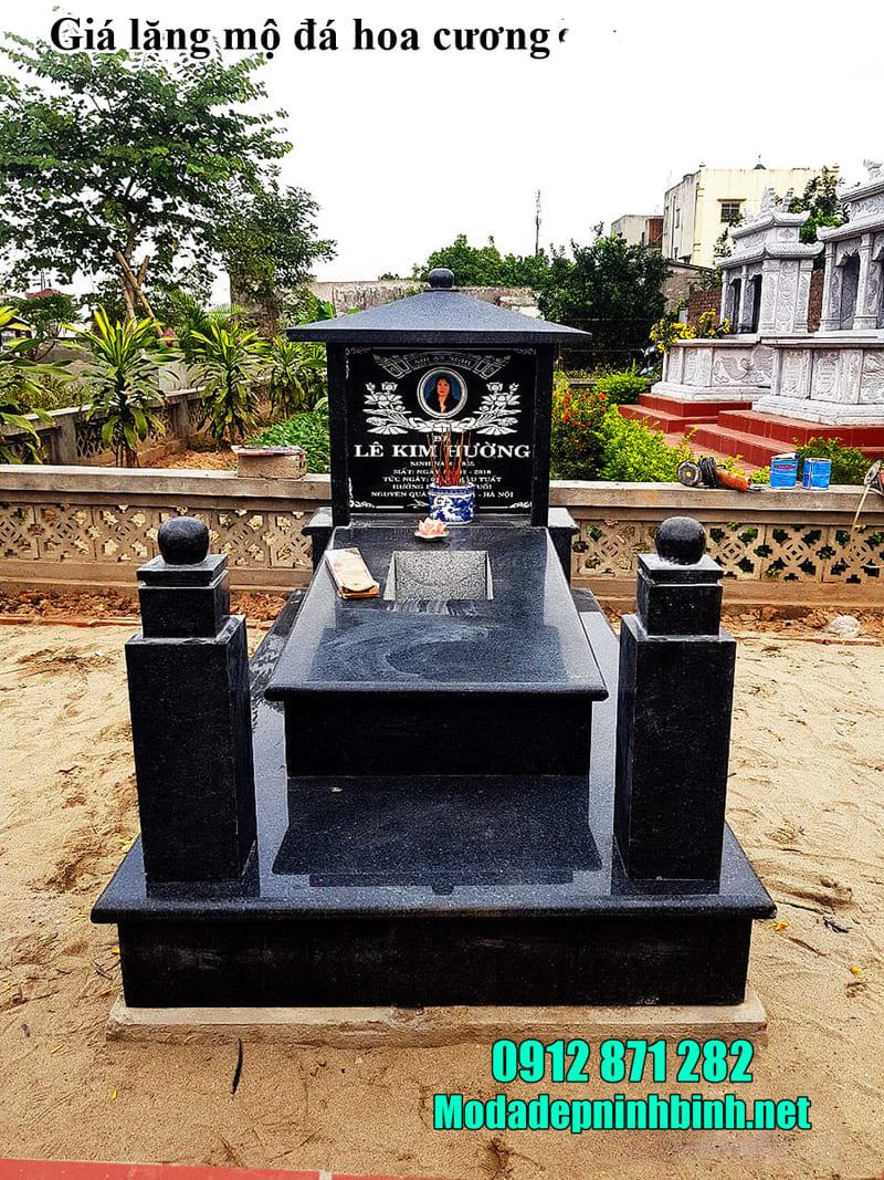Những khu lăng mộ đá granite Ninh Vân mới nhất