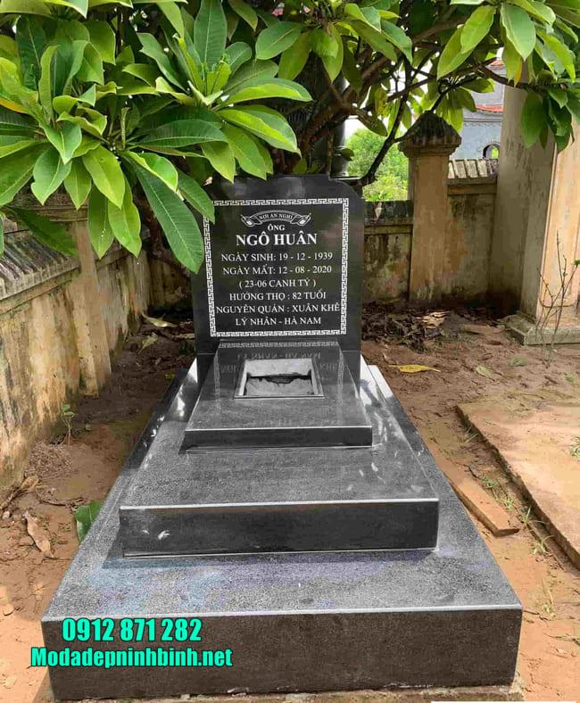 Ưu điểm của mộ đá hoa cương tại Ninh Vân