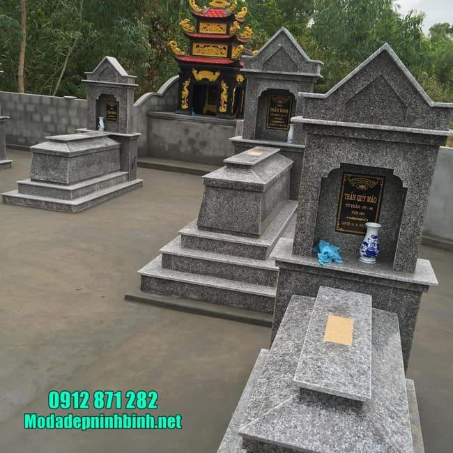 Ưu điểm mộ làm bằng đá granite
