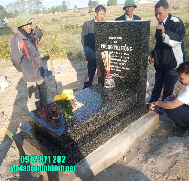 Vài nét về mộ đá hoa cương tại Ninh Vân - Ninh Bình
