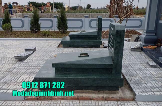 mộ đá thiết kế hiện đại