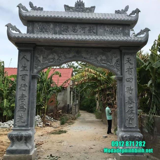các mẫu cổng nhà thờ họ bằng đá