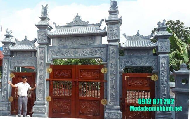 cổng chùa đẹp nhất bằng đá tự nhiên