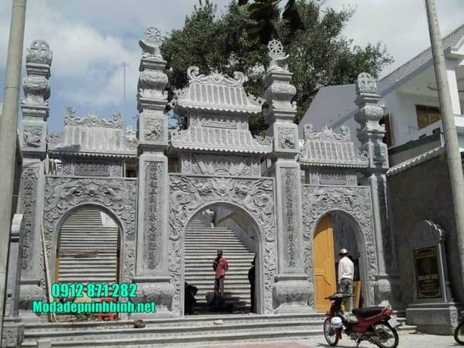 cổng tam quan chùa đẹp