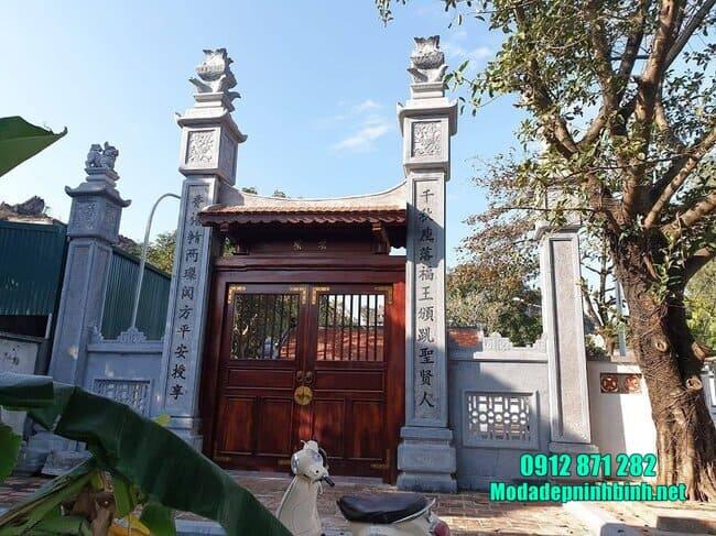 mẫu cổng chùa đẹp nhất