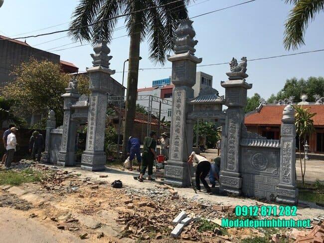 mẫu cổng chùa đẹp
